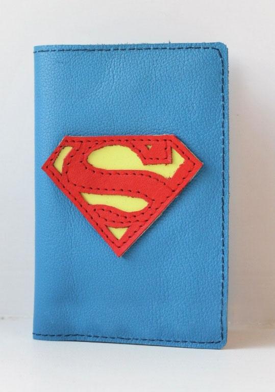 """Обложка на паспорт """"Супер Мэн"""""""