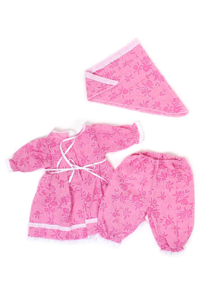 Набор крестильный для девочки ВеснушкаКрестильные наборы<br>Ткань батист + кружево,платьеце,штанишки и косочек.<br>Расцветка: белый или розовый Размер: 24<br><br>Принадлежность: Детская одежда<br>Возраст: Младенец (0-12 месяцев)<br>Пол: Девочка<br>Основной материал: Батист<br>Страна - производитель ткани: Россия, г. Иваново<br>Вид товара: Детская одежда<br>Материал: Батист<br>Длина: 18<br>Ширина: 12<br>Высота: 2<br>Размер RU: 24