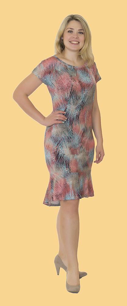 Платье женское ВиолиПлатья<br>Не знаете, как подобрать стильный наряд к празднику или для повседневной носки? Не можете определиться с фасоном или расцветкой? Забудьте об этих проблемах и взгляните на женское платье Виоли!<br>Женственное и элегантное, оно обладает приталенным силуэтом и юбкой годэ, хорошо садится, не доставляет дискомфорта и дарит массу положительных эмоций &amp;amp;mdash; как вам, так и окружающим! Крой наряда обеспечивает идеальную посадку по фигуре. В наличии &amp;amp;mdash; разные размеры и расцветки. Основной материал &amp;amp;mdash; масло, сочетающий в себе преимущества трикотажного полотна, высокую прочность и неприхотливость в уходе.<br>Если вам нужно оптимальное сочетание практичности, изящности и привлекательности, обратите внимание на женское платье Виоли. Размер: 60<br><br>Длина платья: Миди<br>Принадлежность: Женская одежда<br>Основной материал: Масло<br>Страна - производитель ткани: Россия, г. Иваново<br>Вид товара: Одежда<br>Материал: Масло<br>Длина рукава: Короткий<br>Длина: 18<br>Ширина: 12<br>Высота: 7<br>Размер RU: 60