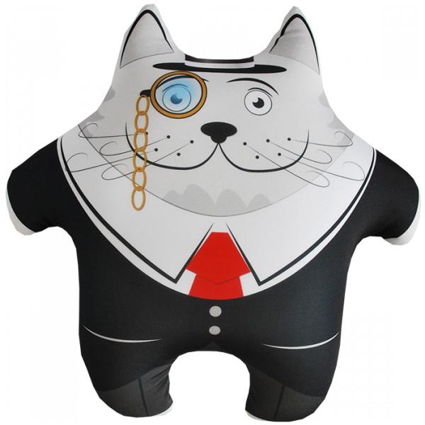 """Антистрессовая игрушка """"Кот ученый"""" 35х35"""