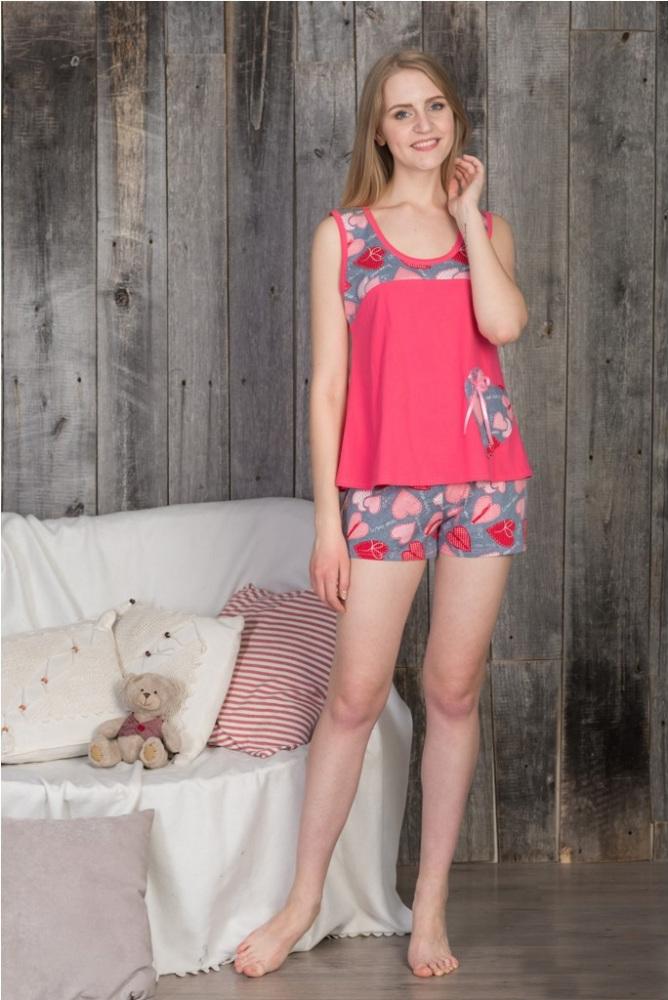 Пижама женская АнжелаПижамы<br>Размер: 54<br><br>Высота: 7<br>Размер RU: 54