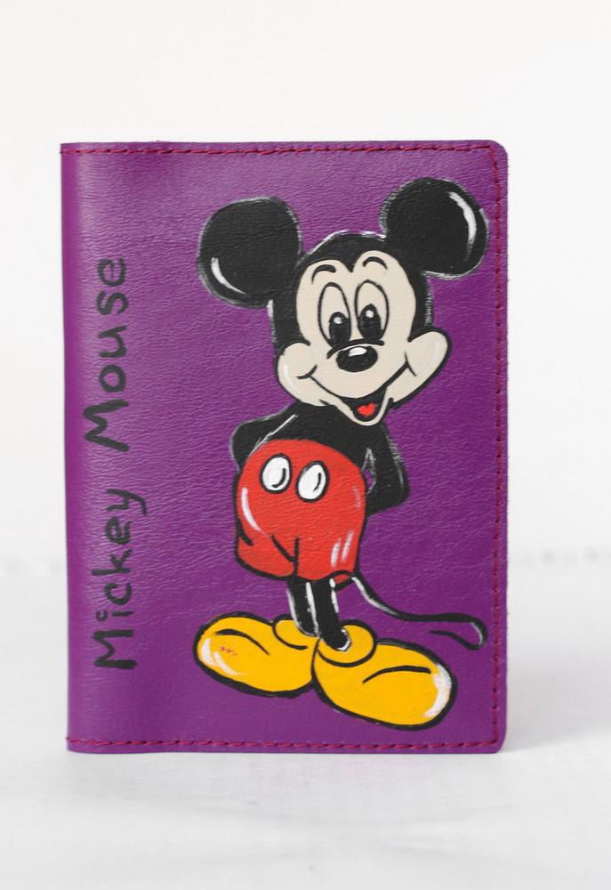 "Обложка для паспорта ""Микки Маус"""