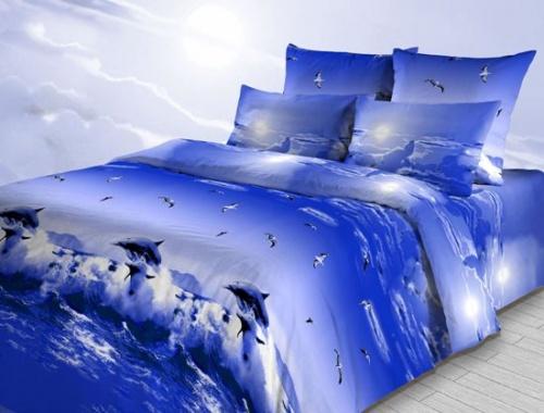 """Постельное белье """"Тихий океан"""" (бязь) 1,5 спальный"""