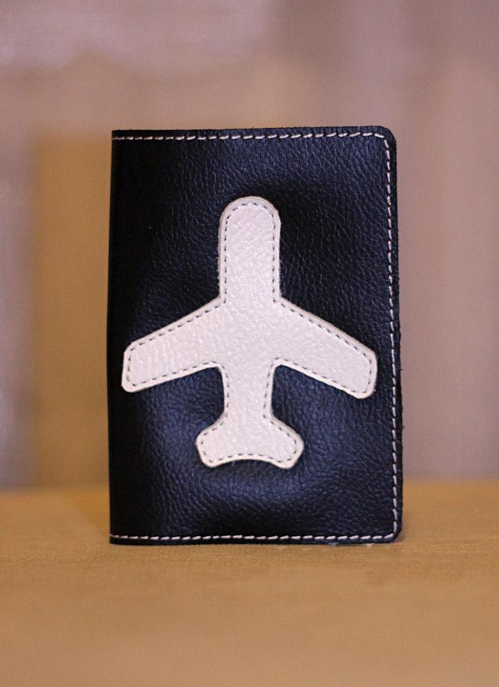 """Обложка на паспорт """"Самолет 2"""""""
