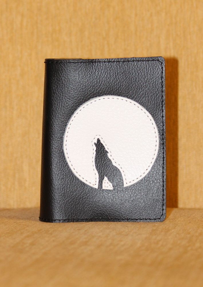 """Обложка на паспорт """"Волк"""" от Grandstock"""