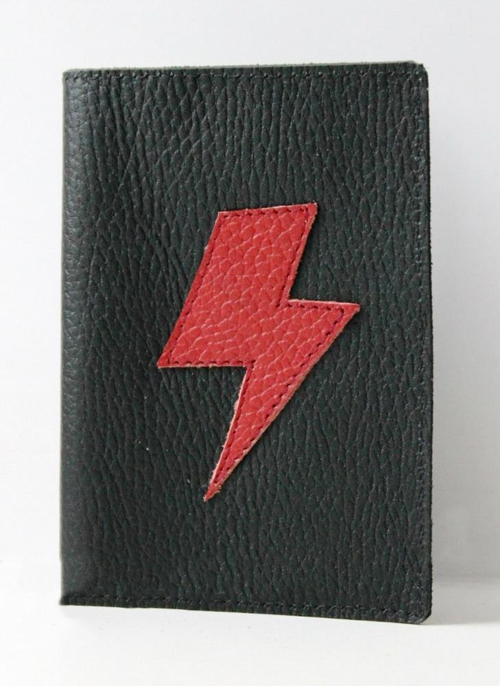 """Обложка на паспорт """"Молния"""""""