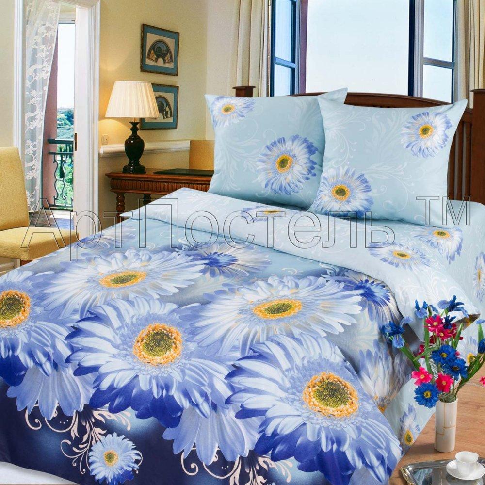 Постельное белье Агата (бязь) 2 спальный с Евро простынёй