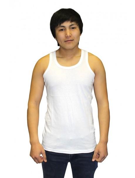 Майка мужская ВладимирМайки<br>Размер: 42<br><br>Принадлежность: Мужская одежда<br>Основной материал: Кулирка<br>Страна - производитель ткани: Узбекистан<br>Вид товара: Одежда<br>Материал: Кулирка<br>Состав: 100% хлопок<br>Длина: 18<br>Ширина: 12<br>Высота: 7<br>Размер RU: 42