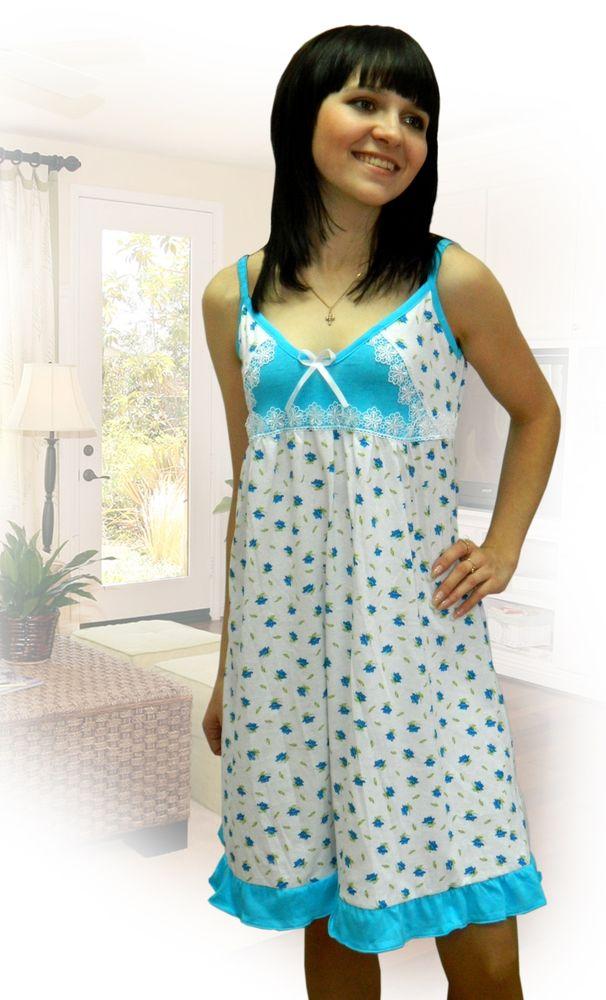 Ночная сорочка МальдивыСорочки и ночные рубашки<br>Ночная сорочка Мальвина - женственная сорочка для дам. Материал: кулирка (нежное трикотажное полотно). Свободный силуэт с завышенной талией, V-образный вырез горловины, романтичные оборки, кружевные вставки и цветочная набивка делают сорочку для сна актуальной для покупателей. Ночная сорочка в интернет-магазине - это качество по доступной цене.<br>Размеры: 42-52 Размер: 44<br><br>Принадлежность: Женская одежда<br>Основной материал: Кулирка<br>Страна - производитель ткани: Россия, г. Иваново<br>Вид товара: Одежда<br>Материал: Кулирка<br>Длина рукава: Без рукава<br>Длина: 18<br>Ширина: 12<br>Высота: 7<br>Размер RU: 44