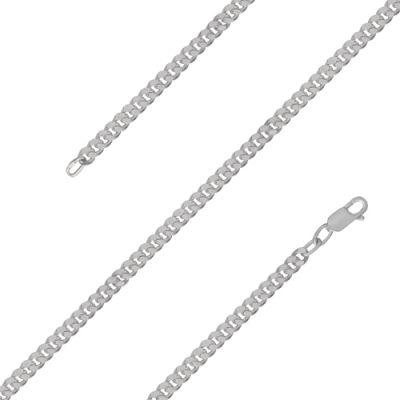 Цепочка бижутерия МПГ12 (серебрение) 17