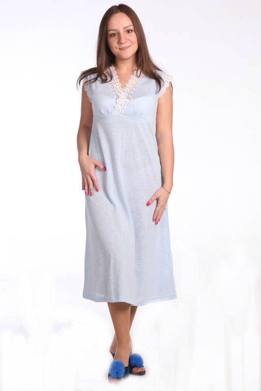 Ночная сорочка АвиньонСорочки и ночные рубашки<br>Размер: 56<br><br>Принадлежность: Женская одежда<br>Основной материал: Ажур<br>Страна - производитель ткани: Россия, г. Иваново<br>Вид товара: Одежда<br>Материал: Ажур<br>Длина рукава: Без рукава<br>Длина: 18<br>Ширина: 12<br>Высота: 7<br>Размер RU: 56