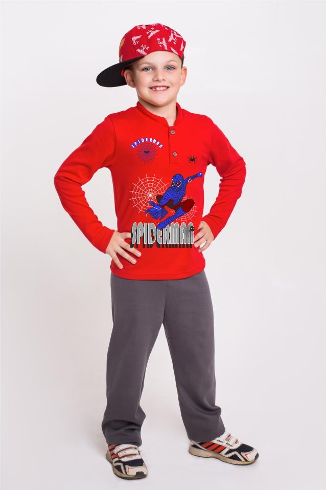 Костюм Человек-паукПрочие костюмы<br>Размер: 38<br><br>Принадлежность: Детская одежда<br>Возраст: Младший школьный возраст (7-10 лет)<br>Пол: Мальчик<br>Основной материал: Интерлок<br>Вид товара: Детская одежда<br>Материал: Интерлок<br>Длина: 19<br>Ширина: 10<br>Высота: 6<br>Размер RU: 38