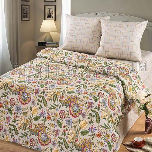 Постельное белье Изящество (бязь) 2 спальный с Евро простынёйПРЕМИУМ<br>Размер: 2 спальный с Евро простынёй<br><br>Высота: 8<br>Размер RU: 2 спальный с Евро простынёй