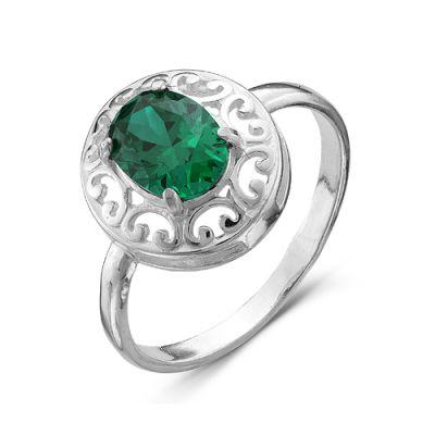"""Кольцо серебряное """"2386544б7"""" от Grandstock"""