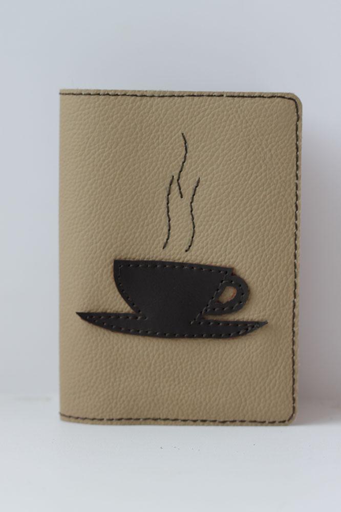 """Обложка для паспорта """"Кофе"""""""