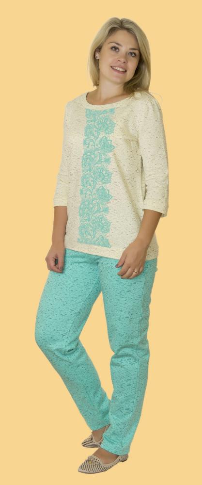 Пижама женская ЭмилиПижамы<br>Размер: 56<br><br>Высота: 7<br>Размер RU: 56