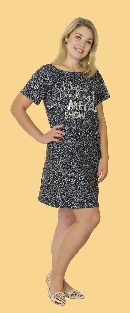 Ночная сорочка БониСорочки и ночные рубашки<br>Размер: 56<br><br>Высота: 7<br>Размер RU: 56