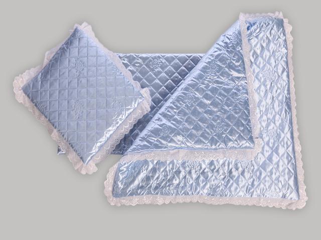 Набор в коляску (ультрастеп)Наборы в кроватку, в коляску<br>Одеяло + матрац + подушка<br><br>Размеры: Подушка: 40х40<br>                  Одеяло:80х80 синтепон<br>                  Матрац: 40х75 поролон, съемный чехол<br><br>Принадлежность: Детская одежда<br>Возраст: Младенец (0-12 месяцев)<br>Пол: Унисекс<br>Основной материал: Атлас<br>Страна - производитель ткани: Россия, г. Иваново<br>Вид товара: Детская одежда<br>Материал: Атлас<br>Длина: 30<br>Ширина: 20<br>Высота: 11