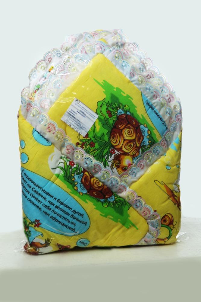 Набор в коляску Загадка (бязь)Наборы в кроватку, в коляску<br>Новоиспеченных родителей всегда беспокоит вопрос, как не забыть о всевозможных полезных мелочах, ведь иногда кажется, что все просто невозможно удержать в голове.<br>Частично решить проблему поможет практичный и функциональный набор в коляску Загадка из бязи, в который входит маленький матрац, одеяло и подушка. В качестве наполнителя - гипоаллергенный синтепон, полностью безопасный для малыша. Бязь неприхотлива, легко стирается и переносит ежедневное использование, долго не выцветает, не вызывает раздражения на коже и не причиняет дискомфорт.<br>Набор Загадка - настоящая находка. В наличии - разные цвета. Доступная стоимость приятно порадует экономных родителей.<br><br>Определиться с расцветкой Вы можете здесь<br>Размеры: Подушка: 40х40                 Одеяло: 80х80                 Матрац: 40х80<br><br>Принадлежность: Детская одежда<br>Возраст: Младенец (0-12 месяцев)<br>Пол: Унисекс<br>Основной материал: Бязь<br>Страна - производитель ткани: Россия, г. Иваново<br>Вид товара: Детская одежда<br>Материал: Бязь<br>Длина: 30<br>Ширина: 20<br>Высота: 11