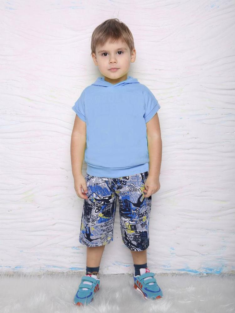 Бермуды ПетяБермуды<br>Размер: 32<br><br>Принадлежность: Детская одежда<br>Возраст: Дошкольник (1-6 лет)<br>Пол: Девочка<br>Основной материал: Кулирка<br>Вид товара: Детская одежда<br>Материал: Кулирка<br>Длина: 18<br>Ширина: 12<br>Высота: 2<br>Размер RU: 32