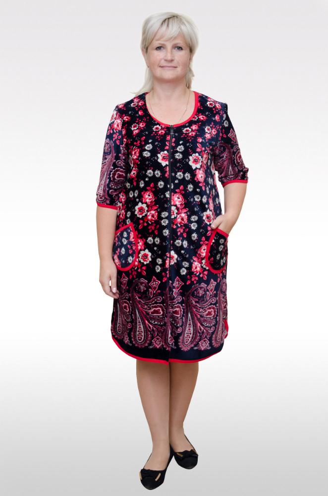 Халат женский КаринаТеплые халаты<br>Размер: 58<br><br>Высота: 11<br>Размер RU: 58