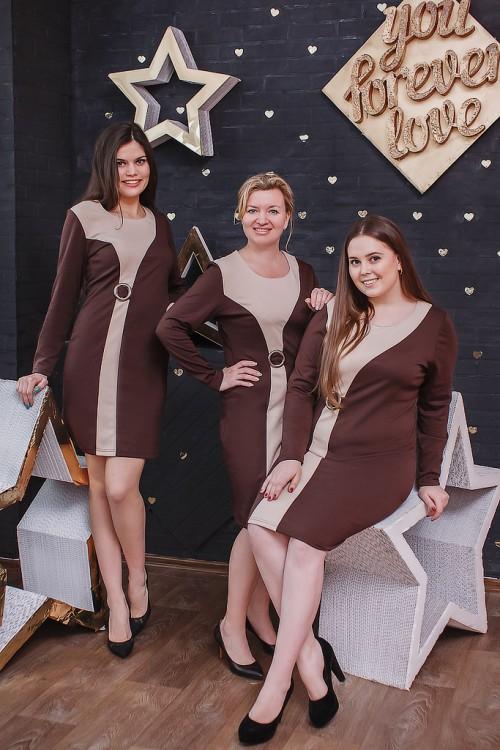 Платье женское ГретаПлатья<br>Размер: 44<br><br>Принадлежность: Женская одежда<br>Основной материал: Милано<br>Страна - производитель ткани: Россия, г. Иваново<br>Вид товара: Одежда<br>Материал: Милано<br>Длина рукава: Длинный<br>Длина: 18<br>Ширина: 12<br>Высота: 7<br>Размер RU: 44