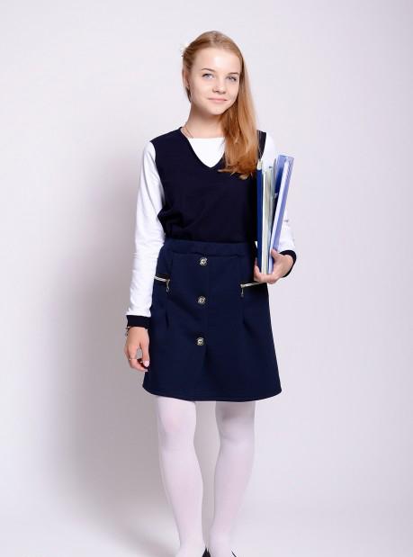 Блузка школьная КатенькаШкольная форма<br>Размер: 38<br><br>Высота: 2<br>Размер RU: 38