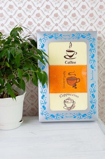 Подарочный набор Кофе (3 полотенца)Подарочные наборы<br>Комплектация набора: 40*70 - 3 штуки<br><br>Высота: 6