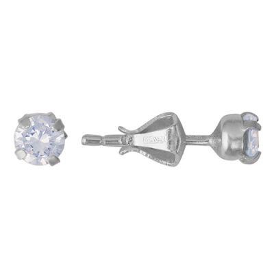 Серьги серебряные 3381549бС камнями<br>Артикул  3381549б<br>Вес  0,86<br>Вставка  Фианит;<br>Покрытие  без покрытия<br><br>Высота: 2