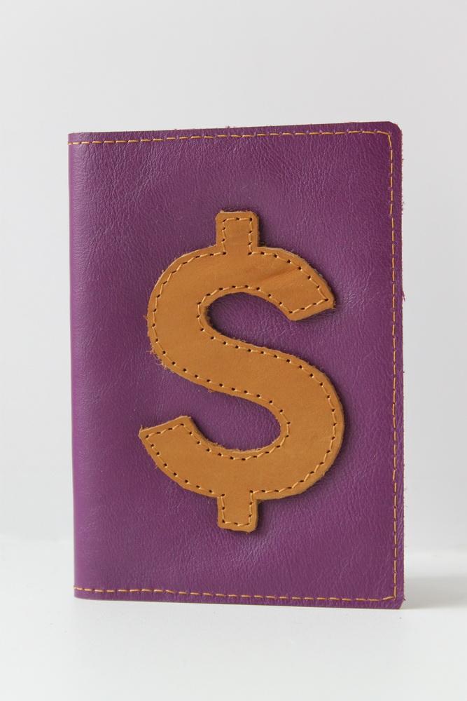 """Обложка для паспорта """"Доллар"""""""