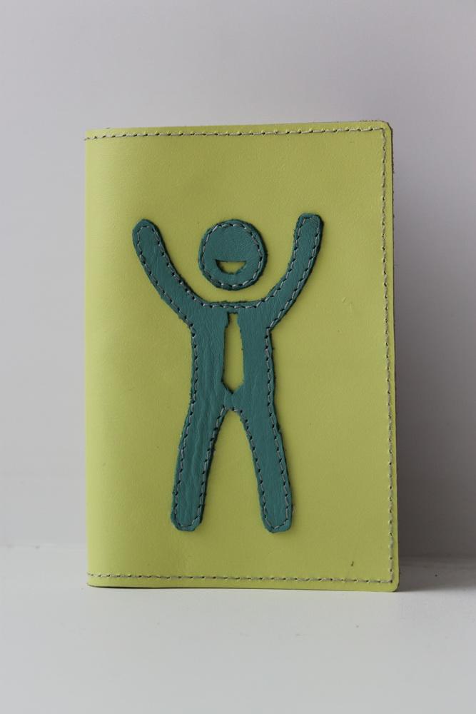 """Обложка для паспорта """"Человек"""""""