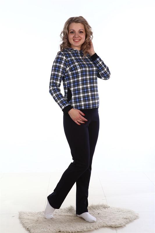 Костюм женский ЛитийЛетние костюмы<br>Костюм молодежный комбинированный из интерлока. Состоит из кофты и брюк.<br>Кофта из набивного интерлока, брюки — из&amp;amp; гладкокрашенного в тон кофты. Размер: 46<br><br>Принадлежность: Женская одежда<br>Комплектация: Брюки, кофта<br>Основной материал: Интерлок<br>Страна - производитель ткани: Россия, г. Иваново<br>Вид товара: Одежда<br>Материал: Интерлок<br>Длина: 19<br>Ширина: 17<br>Высота: 9<br>Размер RU: 46