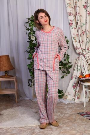 Пижама женская ЛинсиПижамы<br>Размер: 54<br><br>Принадлежность: Женская одежда<br>Основной материал: Кулирка<br>Вид товара: Одежда<br>Материал: Кулирка<br>Длина: 18<br>Ширина: 12<br>Высота: 7<br>Размер RU: 54