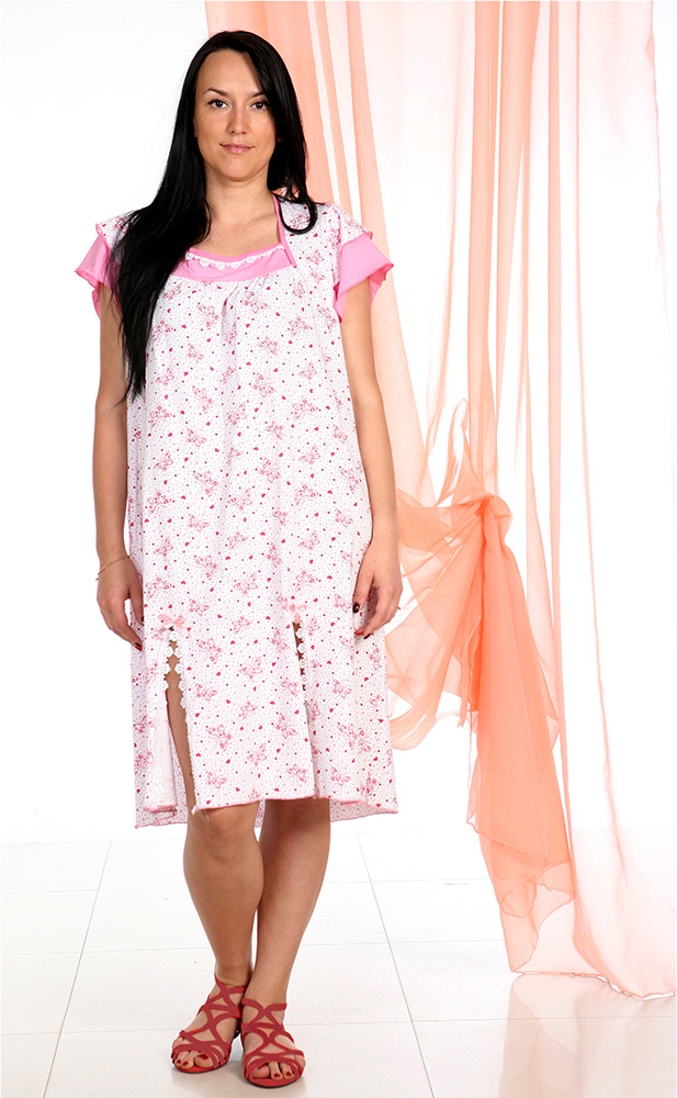 Ночная сорочка ВиленаСорочки и ночные рубашки<br>Размер: 58<br><br>Высота: 7<br>Размер RU: 58