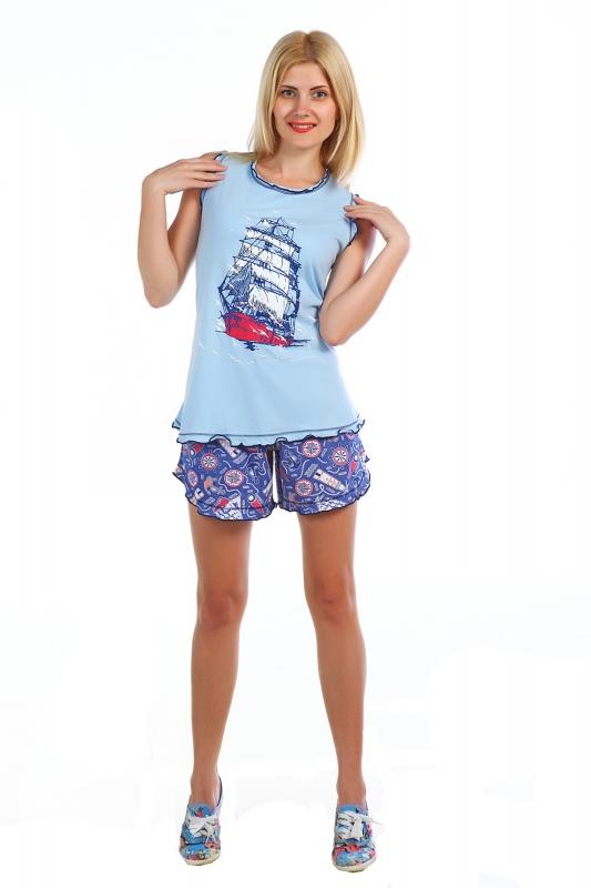 Костюм женский КиприанаЛетние костюмы<br>Размер: 52<br><br>Высота: 7<br>Размер RU: 52