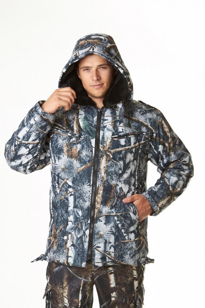 Куртка мужская СтокгольмДля охотников<br>Удобная одежда для рыбалки, охоты, другого активного отдыха на природе или для работы &amp;amp;mdash; решающий фактор успеха. Будь то свободное времяпрепровождение или рабочие будни, отсутствие должного комфорта будет не только отвлекать, но и вызовет негативные эмоции. Куртка мужская Стокгольм позволит этого избежать!<br>Модель выполнена из материала дуплекс &amp;amp;mdash; ткани, представляющей собой соединение дюспо, тканой нейлоновой основы, и эластичного мягкого трикотажа с изнанки. Такая структура материала делает его очень прочным, износостойким, устойчивым к влаге и ветру. Подкладка куртки, а также отложной воротник, выполнены из искусственного меха, а в качестве утепляющего материала используется синтепон. Силуэт изделия прямой, дополнен съемным капюшоном; на плечевых швах расположены погоны-хлястики на пуговицах. Нижний воротник также дополнен хлястом с петлей и пуговицей. Регулировочные паты расположены по низу изделия. Модель имеет 4 удобных функциональных кармана.<br>Мужская куртка Стокгольм подойдет поклонникам рыбалки, охоты, турпоходов и другой активности на природе, а также может выступать в качестве спецодежды для представителей охранных структур и рабочих профессий. Качество, прочность, долговечность и комфорт &amp;amp;mdash; все это вы получите, приобретя данную модель. Размер: 48-50<br><br>Подкладка: Таффета, искусственный мех<br>Утепляющий материал: Синтепон<br>Количество карманов: 4<br>Принадлежность: Мужская одежда<br>Основной материал: Дуплекс<br>Страна - производитель ткани: Россия, г. Родники<br>Вид товара: Одежда<br>Материал: Дуплекс<br>Тип застежки: Молния<br>Длина рукава: Длинный<br>Длина: 40<br>Ширина: 25<br>Высота: 25<br>Размер RU: 48-50