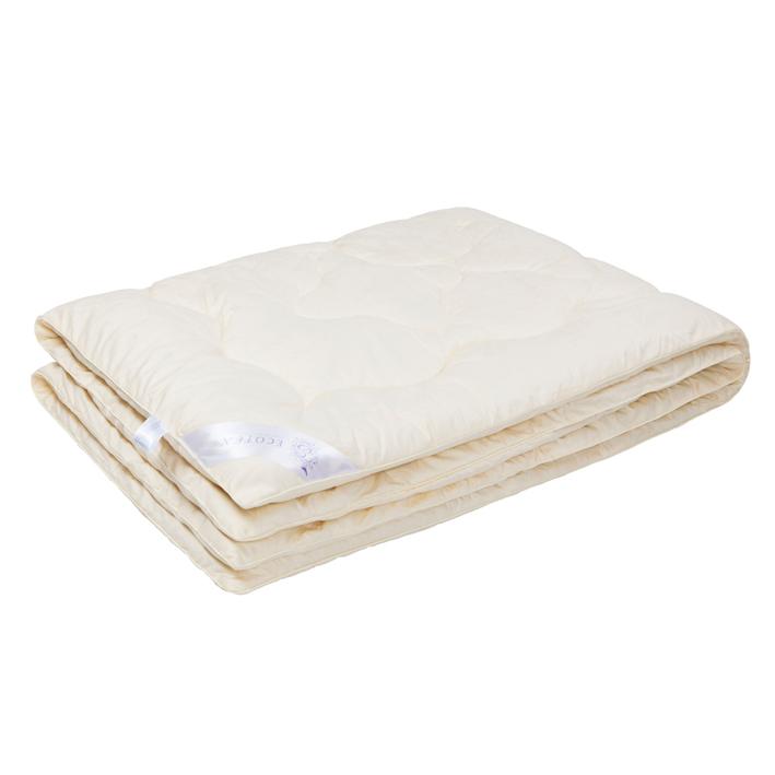 """Одеяло зимнее """"Ашли"""" (кашемир, сатин) 1,5 спальный (140*205)"""