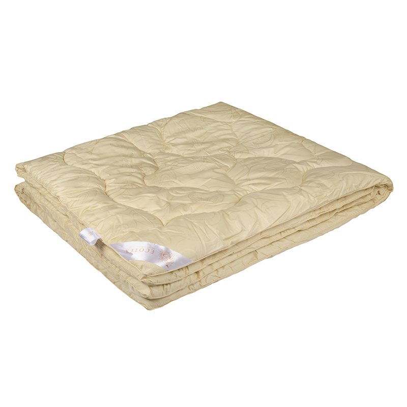 """Одеяло зимнее """"Аркадия"""" (меринос, сатин) 1,5 спальный (140*205)"""