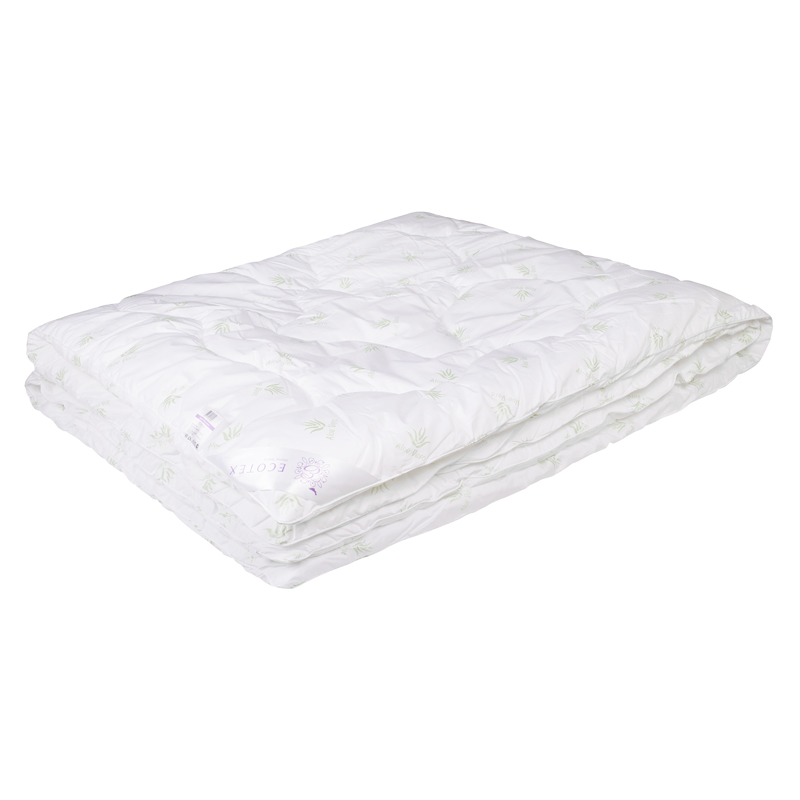 """Одеяло зимнее """"Блисе"""" (алоэ-вера, перкаль) 1,5 спальный (140*205)"""