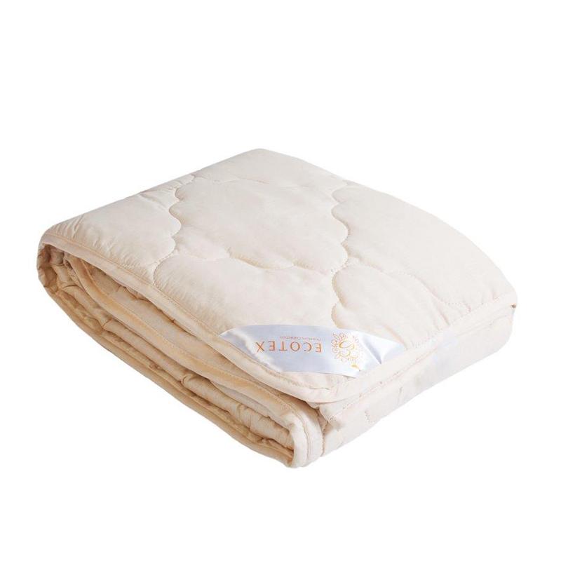 """Одеяло облегченное """"Аркадия"""" (меринос, поплин) 1,5 спальный (140*205)"""