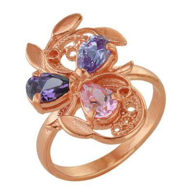 Кольцо серебряное 2382565Серебряные кольца<br>Вес  5,11<br>Вставка  Фианиты<br>Покрытие  золочение Размер: 19.0<br><br>Высота: 3<br>Размер RU: 19.0