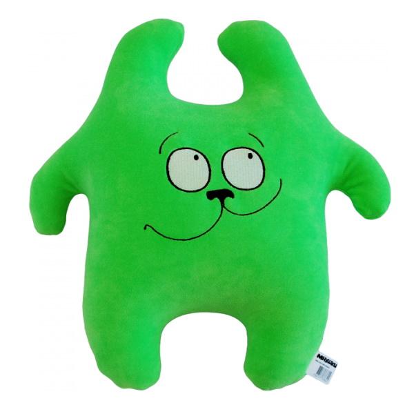 """Антистрессовая игрушка """"Заяц хрустик зеленый"""" 45х45"""