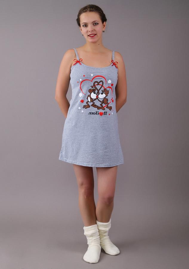 Ночная сорочка АнапаСорочки и ночные рубашки<br>Размер: 48<br><br>Принадлежность: Женская одежда<br>Основной материал: Кулирка<br>Вид товара: Одежда<br>Материал: Кулирка<br>Состав: 100% хлопок<br>Длина: 18<br>Ширина: 12<br>Высота: 7<br>Размер RU: 48