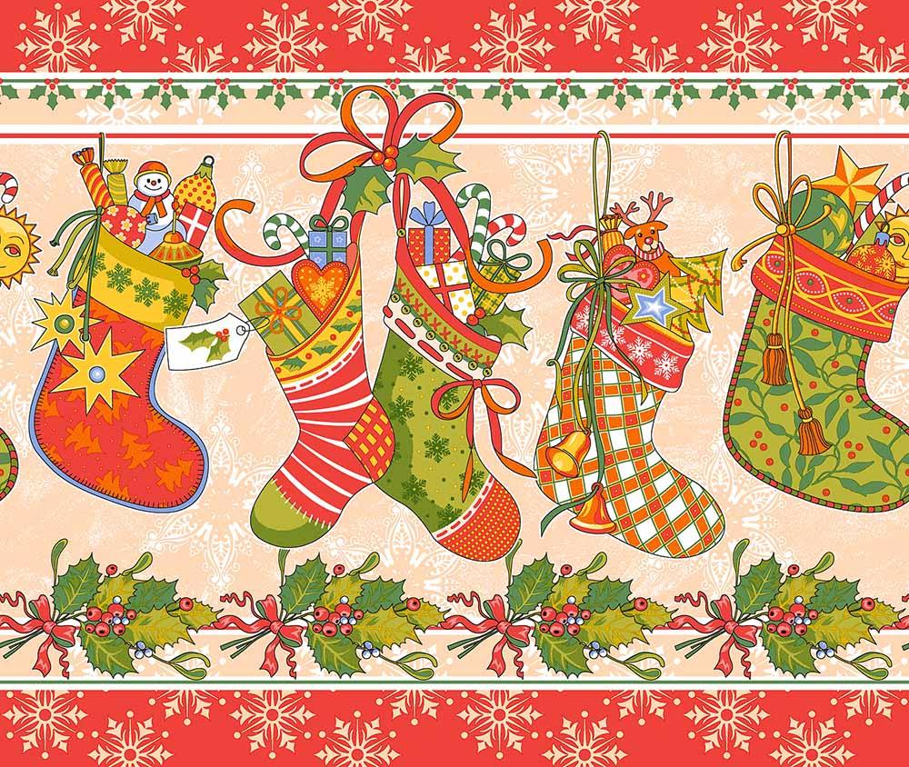 """Полотенце кухонное """"Новогодние подарки"""" 50х70"""