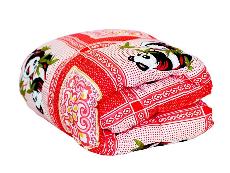 """Одеяло детское """"Панда"""" (файберсофт, бязь) (Детский (110*140)) от Grandstock"""
