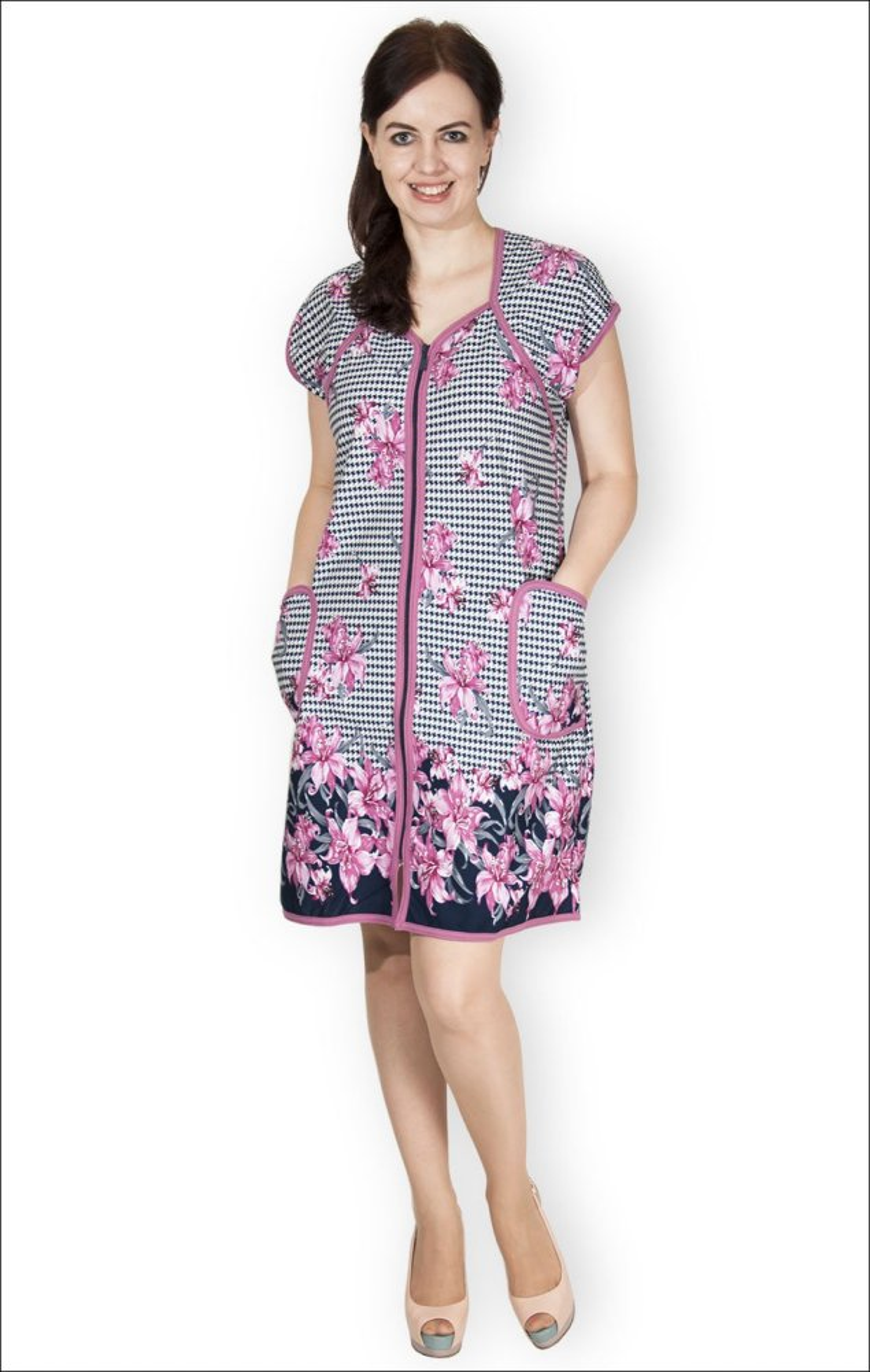 Халат женский КаплияЛегкие халаты<br>Размер: 46<br><br>Высота: 9<br>Размер RU: 46
