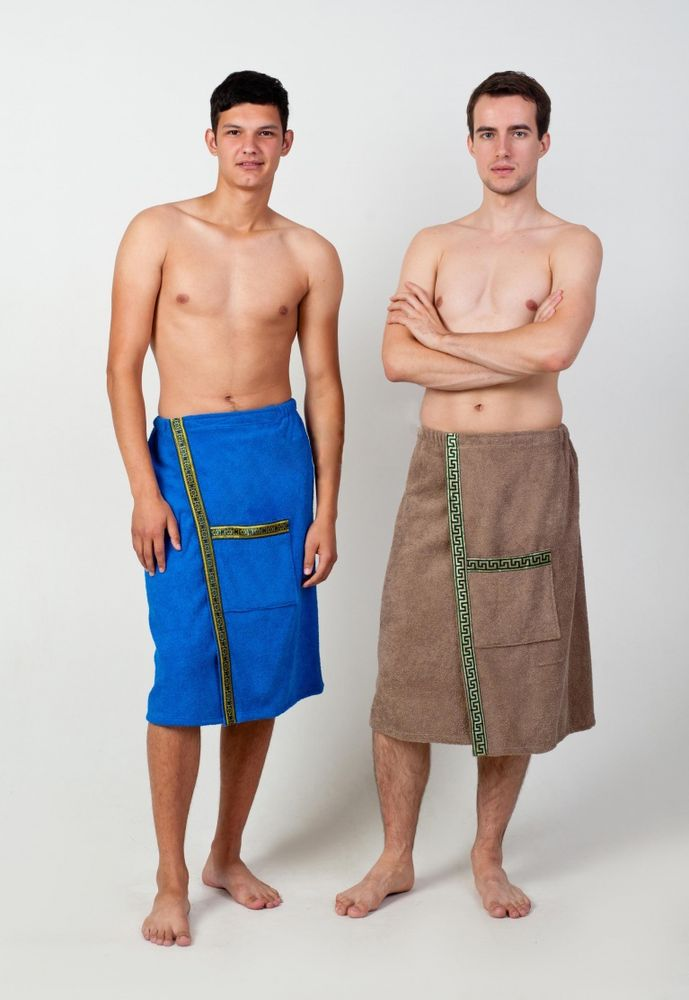 Полотенце-накидка махровая на липучке (мужская) 54-60