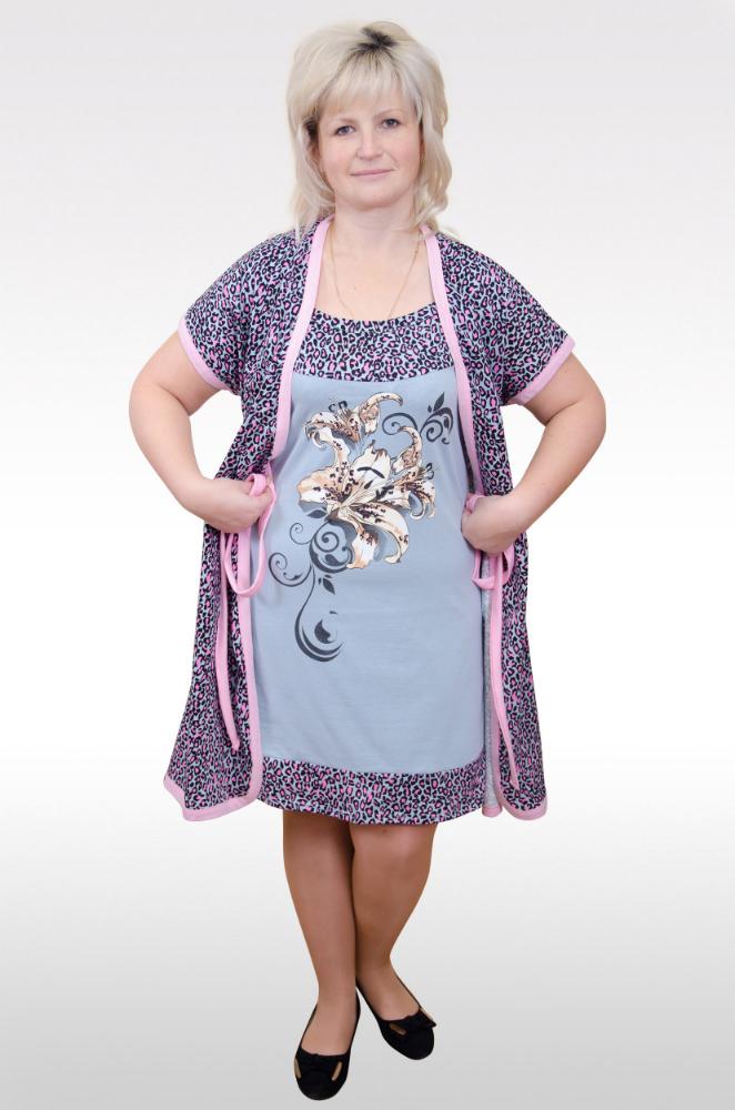 Комплект женский МариНочные комплекты<br>Размер: 48<br><br>Высота: 9<br>Размер RU: 48