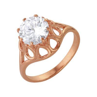 Кольцо бижутерия  2486465фБижутерия<br>Украсить женские пальчики и придать им элегантности могут только ювелирные украшения - кольца. Но кольцо должно именно украшать женскую руку, а не уродовать ее, поэтому выбирайте кольца с более женственным дизайном.<br>А в качестве примера мы можем предложить вам женское кольцо из ювелирного сплава, которое вы видите в каталоге нашего магазина! Кольцо имеет довольно изящный дизайн и украшен фианитом. Изделие также имеет золочение, которое защищает его от облезания и образования ржавчины после контактов с водой.<br>Подобрать кольцо именно своего размера - не беда, ведь данное изделие обладает широким размерным рядом. Размер: 18<br><br>Высота: 3<br>Размер RU: 18
