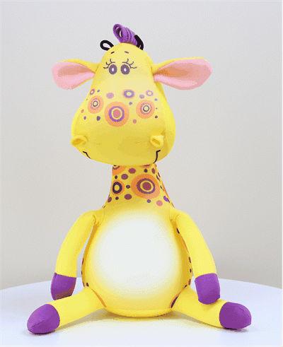 Антистрессовая игрушка Жираф Жозефина 40х14Антистрессовые игрушки<br>Размер:  40х14х15 см. Размер: 40х14<br><br>Высота: 20<br>Размер RU: 40х14